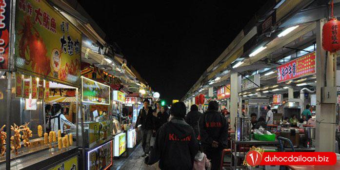 chợ đêm tại đài loan
