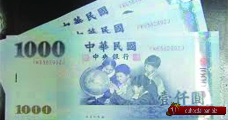 Đài tệ là loại tiền được sử dụng tại Đài Loan.