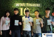 (ảnh học sinh ĐH KHKT Tỉnh Ngô nhận visa kì tháng 2.2019)